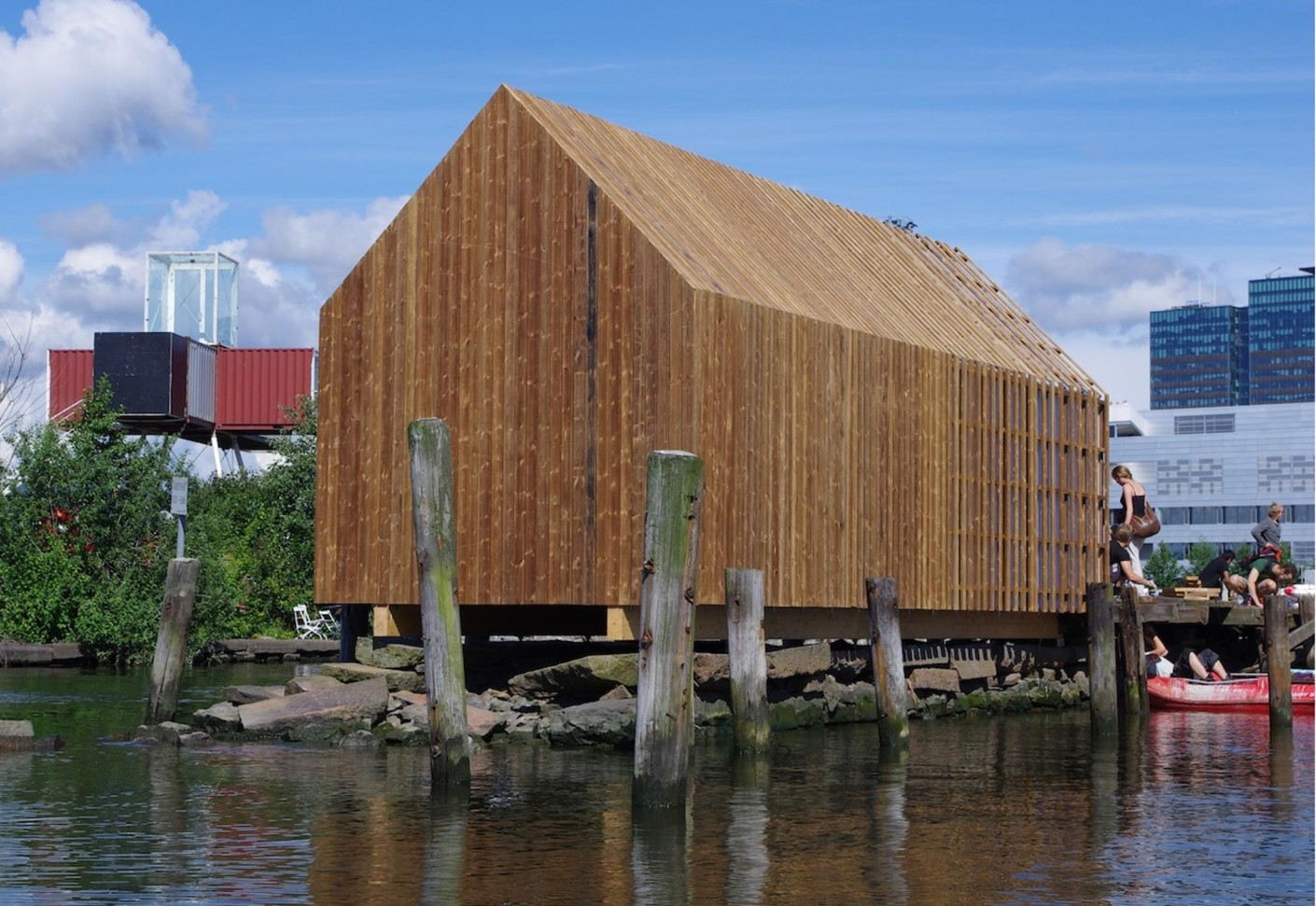 The Kebony Boat House By Kebony Stylepark