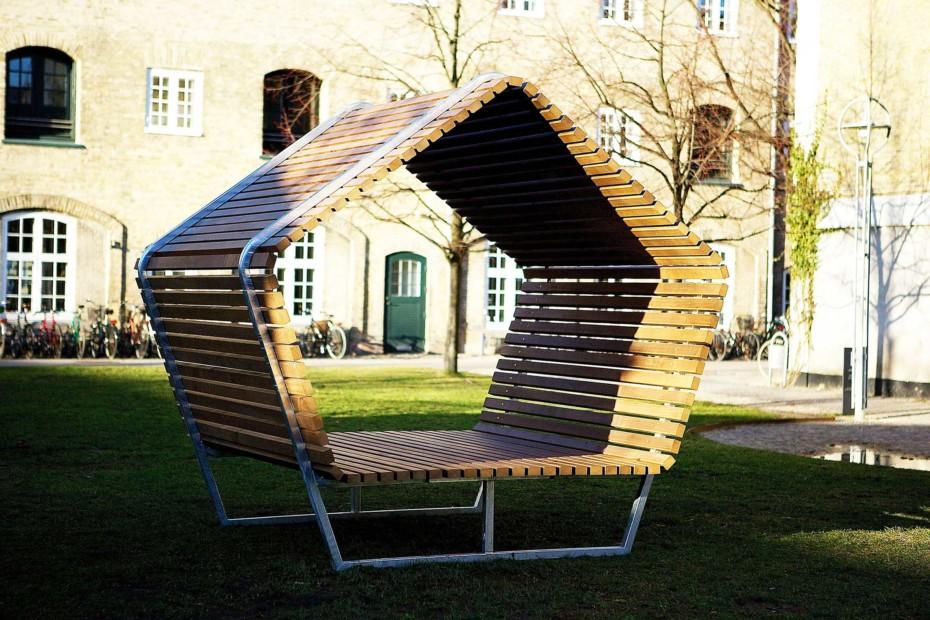Urban Shelter By Kebony Stylepark