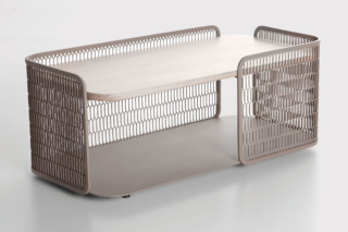 Mesh coffee table  by  Kettal