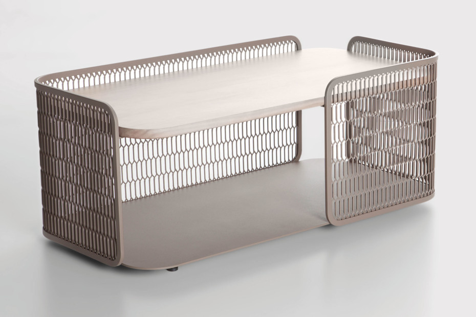 Mesh coffee table