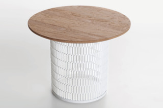 Mesh side table  by  Kettal