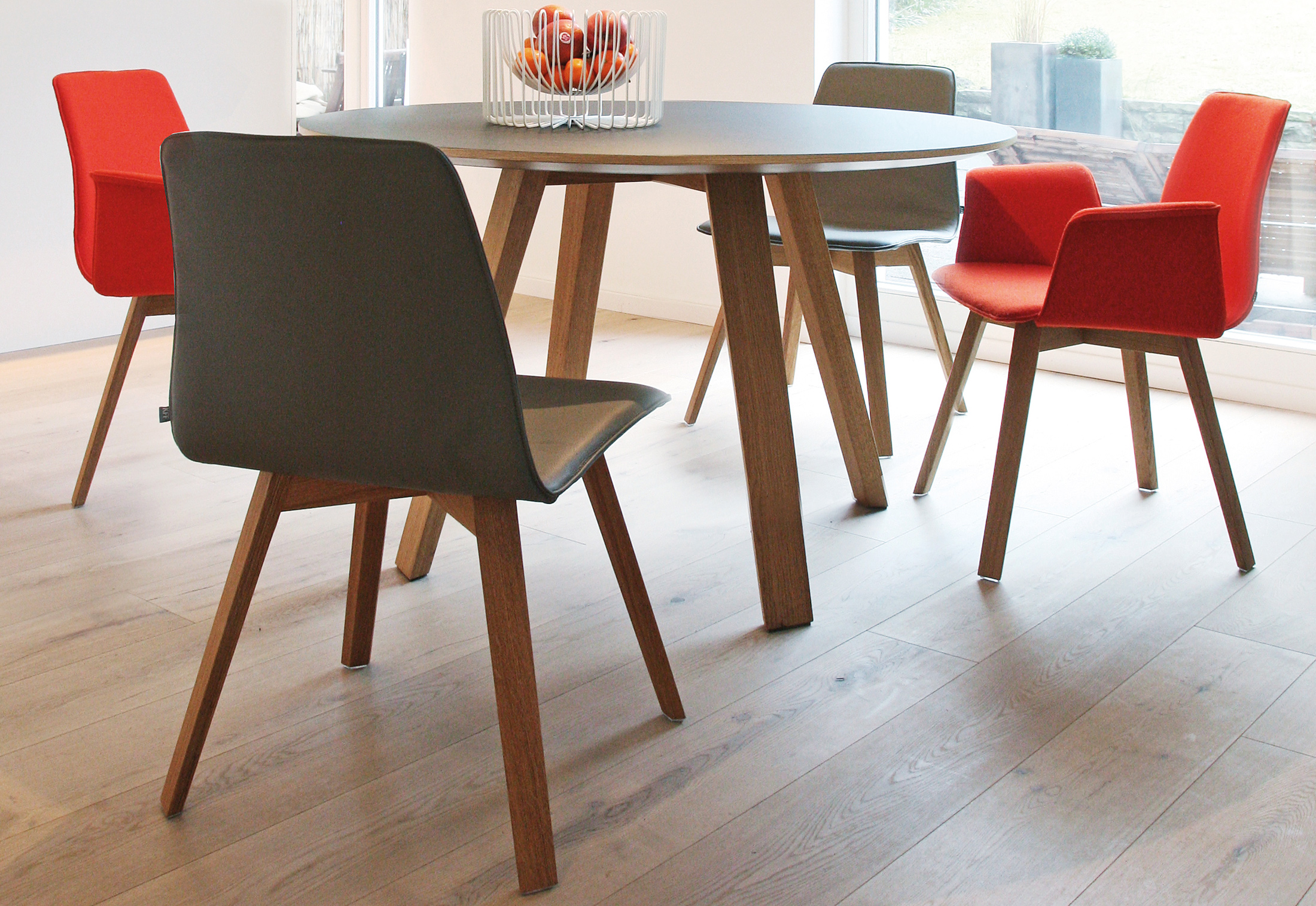 Wonderful ... Maverick Dining Table Round ... Pictures Gallery