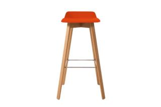 Maverick upholstered short back bar stool  by  KFF
