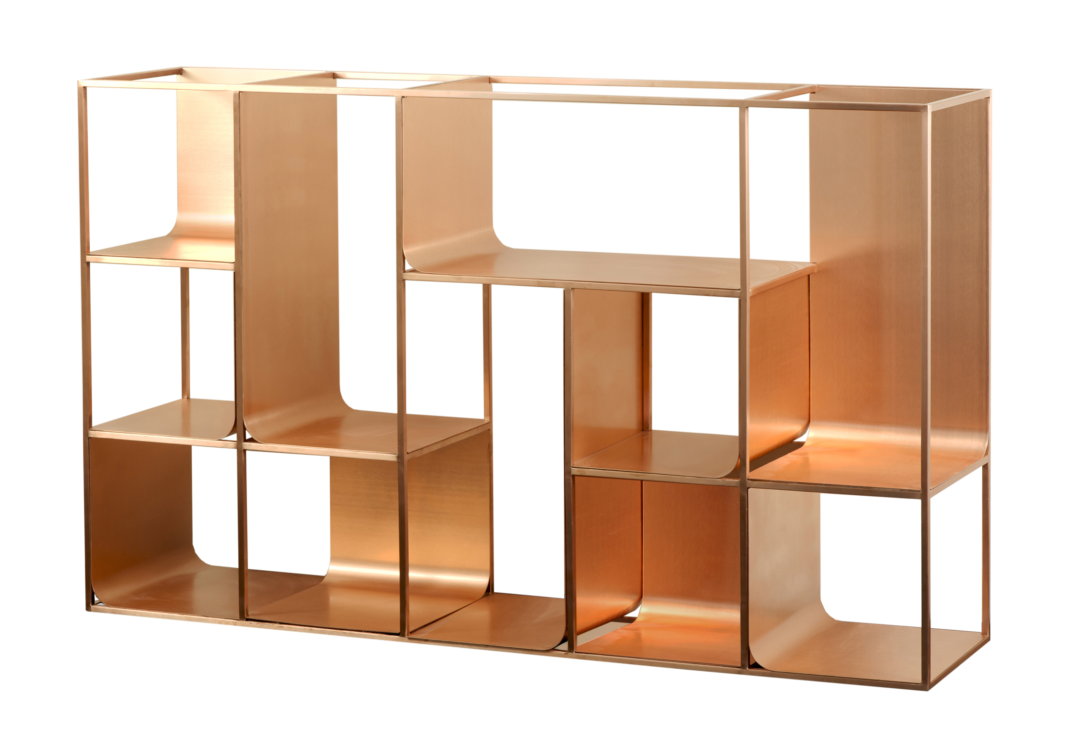 copper view regal von kme stylepark. Black Bedroom Furniture Sets. Home Design Ideas