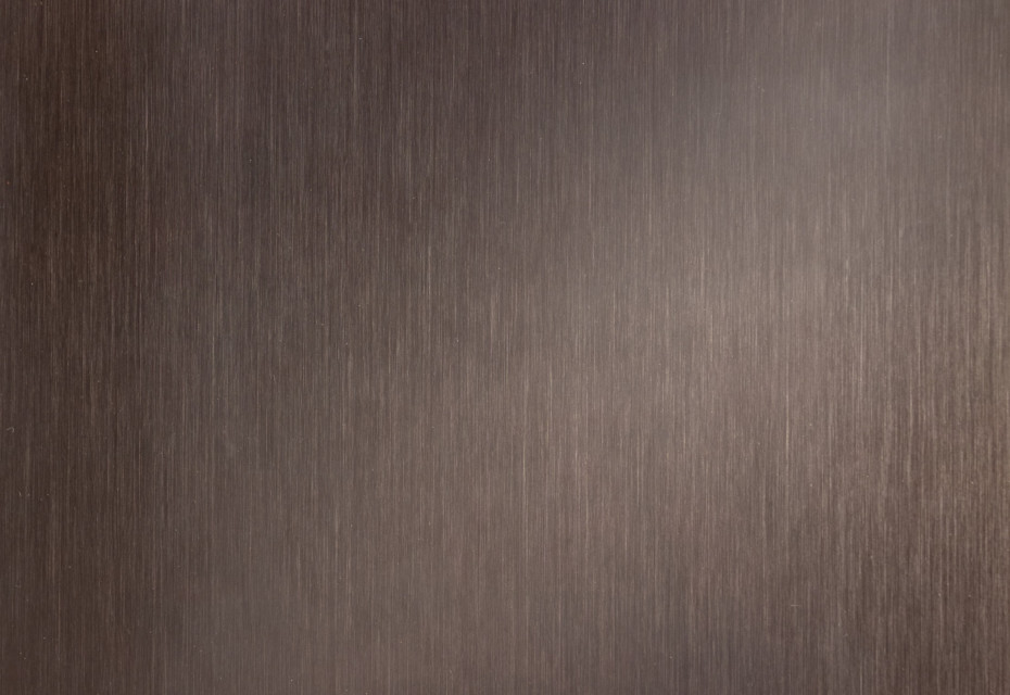 TECU® Brass brownished dark linear grinded
