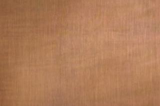 TECU® Brass brownished light linear grinded  by  KME