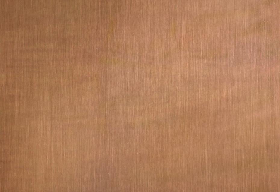TECU® Brass brownished light linear grinded