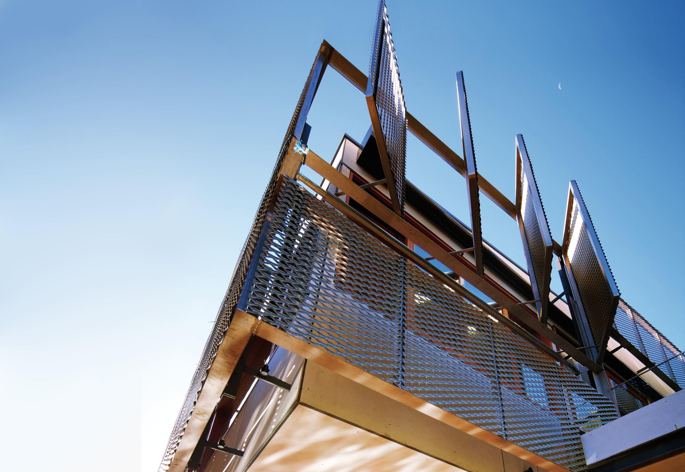 Tecu 174 Brass Mesh Solar Control By Kme Stylepark