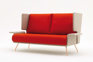 A&A Lounge Sofa  by  Knoll