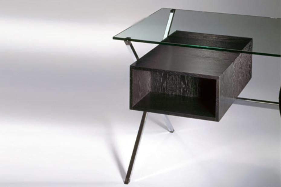albini schreibtisch von knoll stylepark. Black Bedroom Furniture Sets. Home Design Ideas