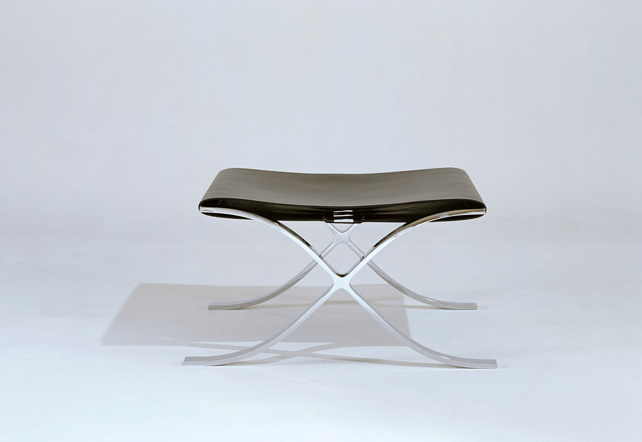 ... Barcelona® Stool With Cowhide Sling ...