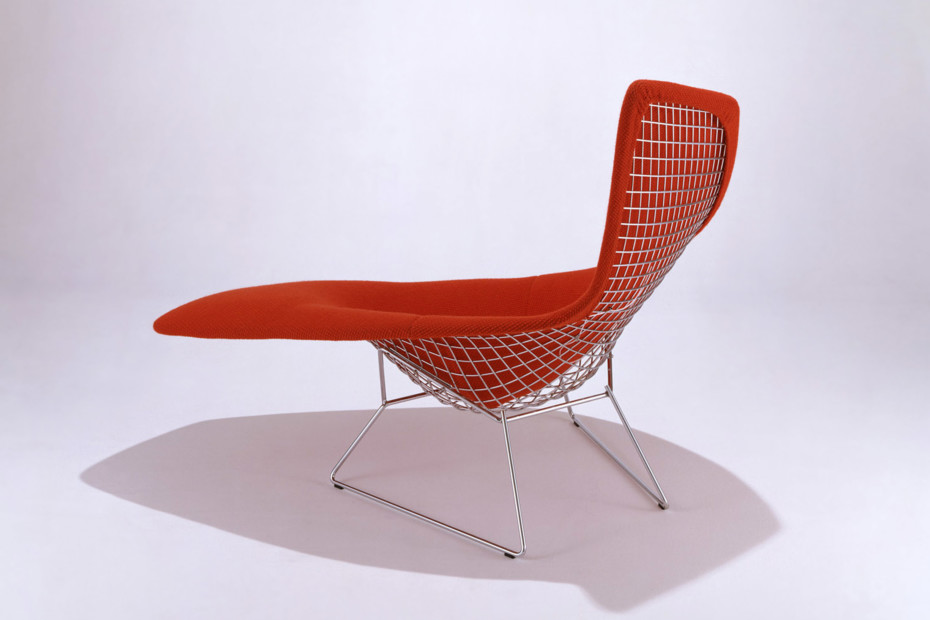 Bertoia asymmetric chaise by knoll stylepark - Chaise bertoia knoll ...