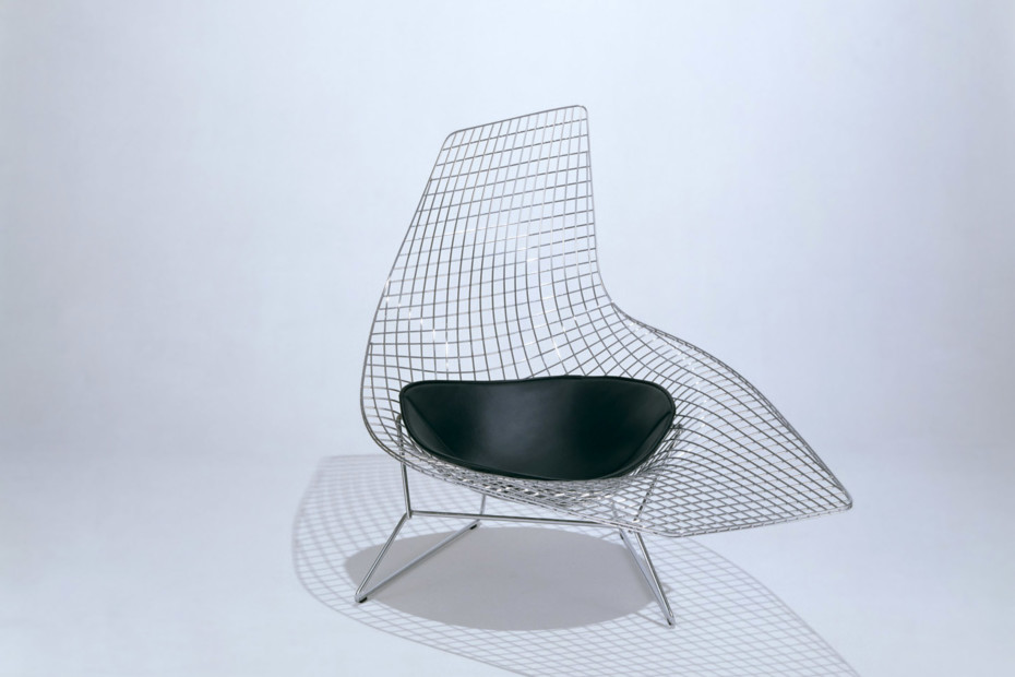 Bertoia asymmetric chaise by knoll stylepark for Bertoia asymmetric chaise