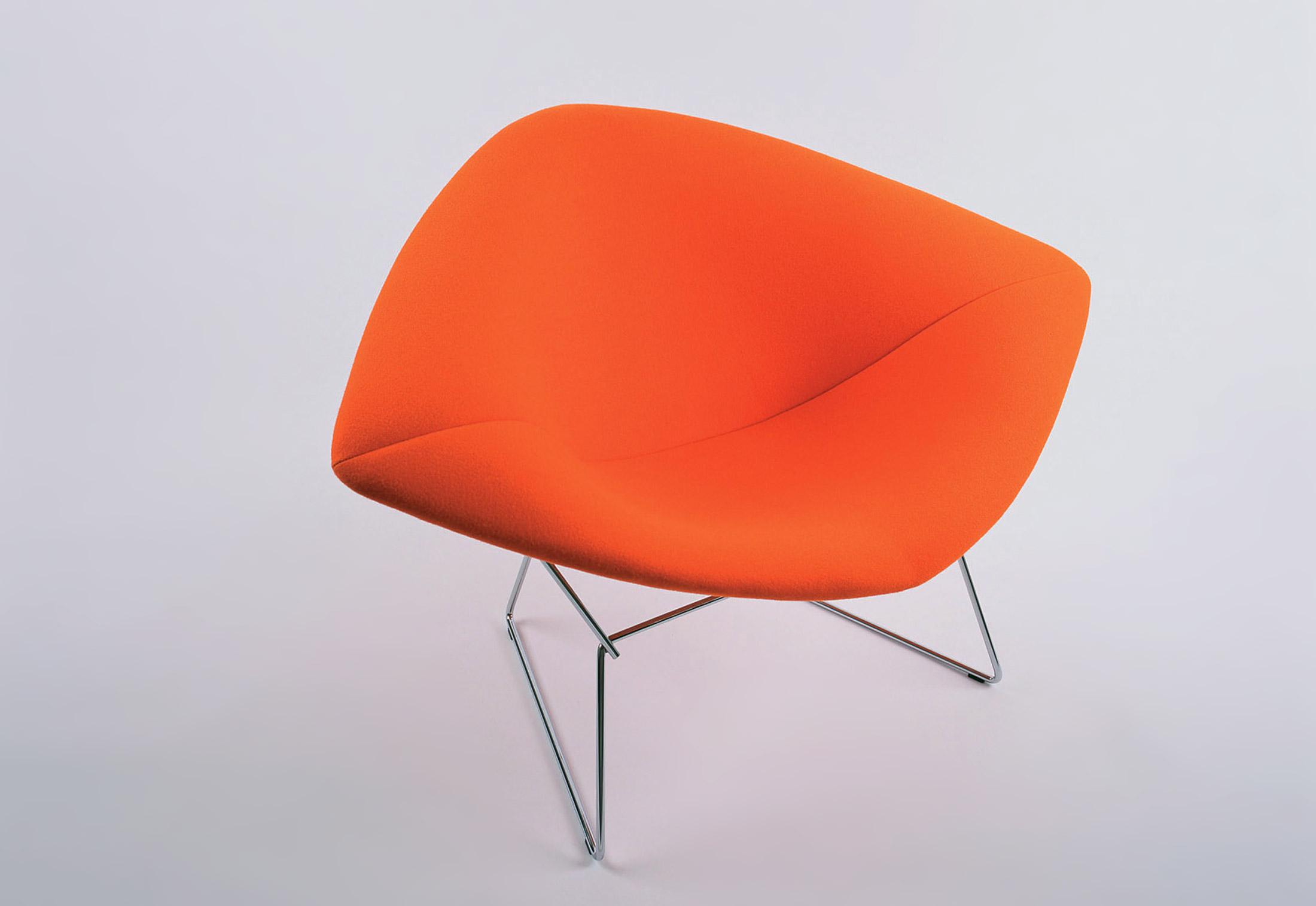 Bertoia Diamond Lounge Chair small by Knoll
