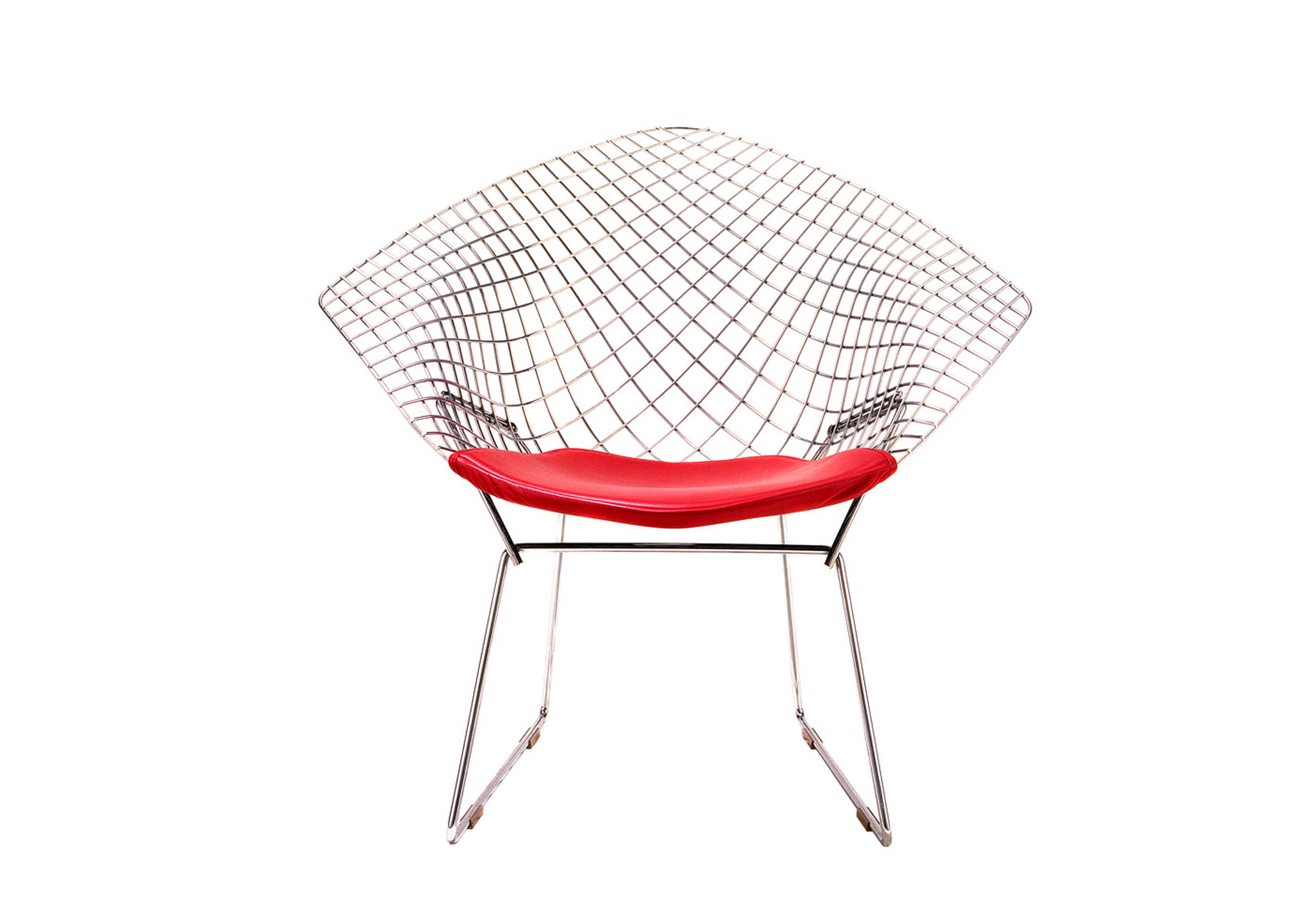 Bertoia Diamond Lounge Chair small by Knoll