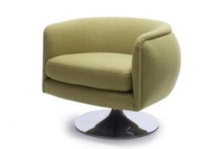 D'urso Swivel Lounge Chair  by  Knoll