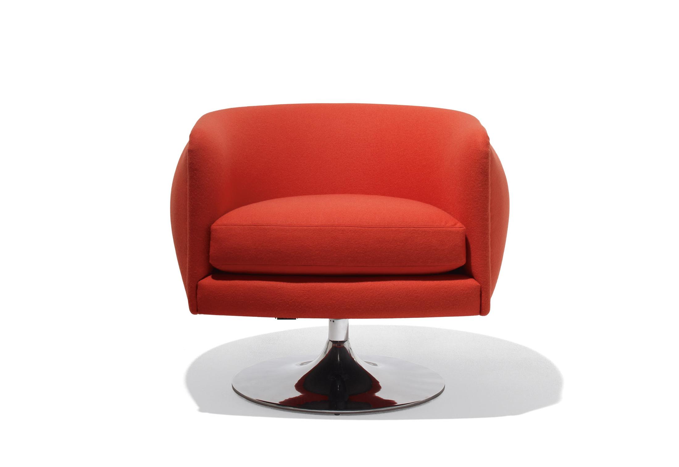 D Urso Swivel Lounge Chair By Knoll Stylepark