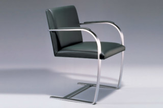 Flat Bar Brno Chair  by  Knoll