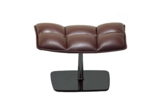 JL swivel ottoman  by  Knoll