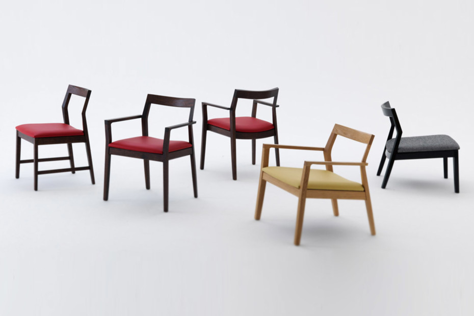 Krusin Chair with armrests