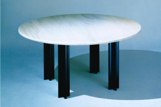 Pascal desk and conference table round  by  Knoll