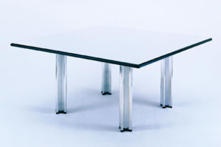 Pascal desk and conference table square  by  Knoll