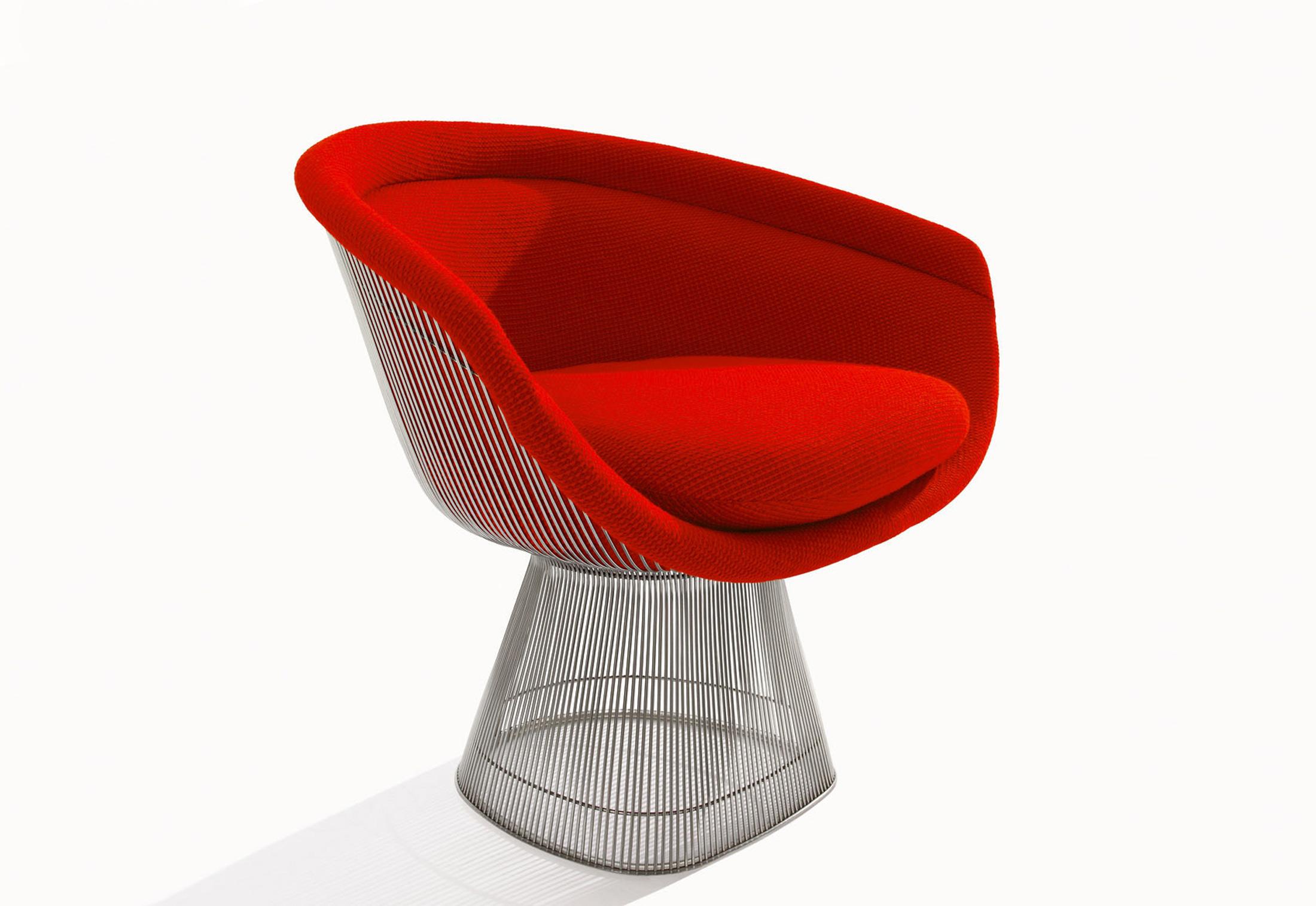Attraktiv ... Platner Lounge Sessel ...