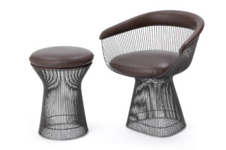 Platner Lounge Stool  by  Knoll