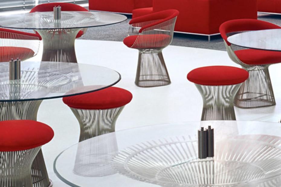 Platner Lounge Hocker