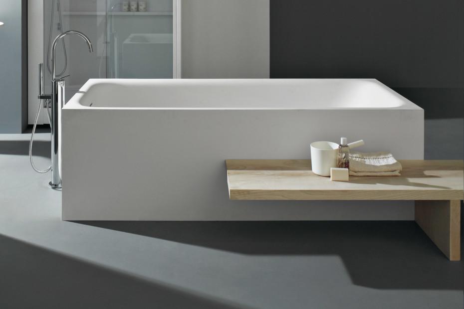 Morphing Bath Tub encased