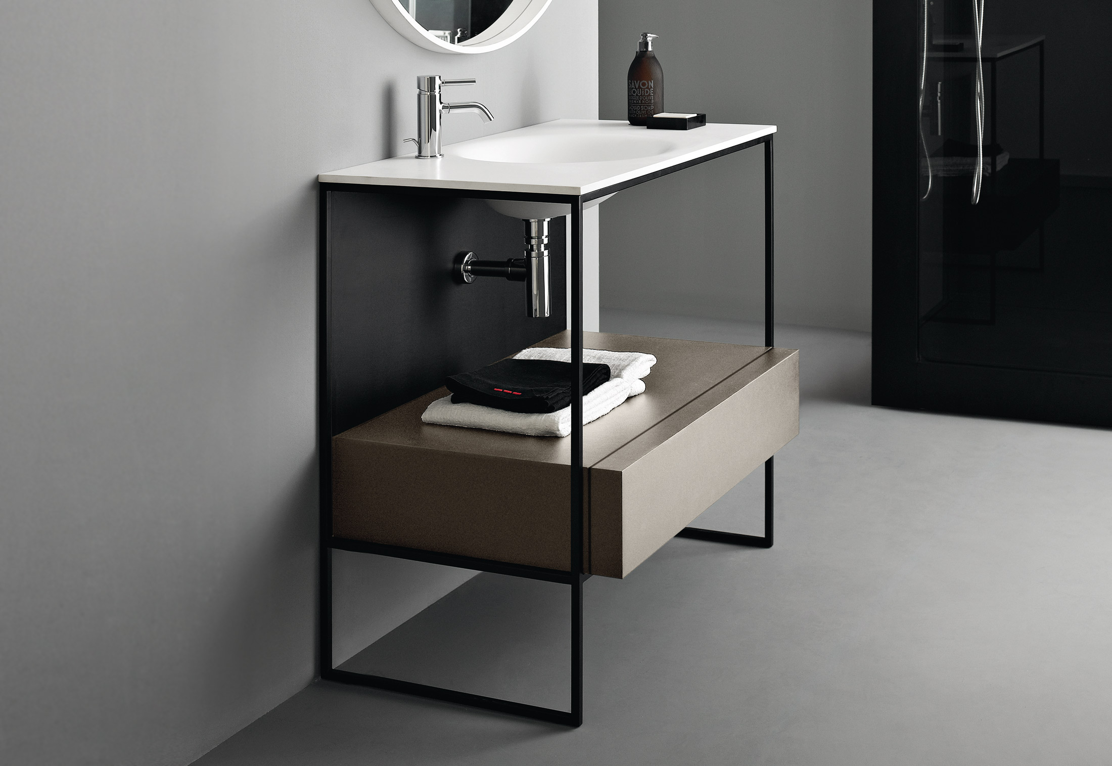 morphing steel by kos stylepark. Black Bedroom Furniture Sets. Home Design Ideas