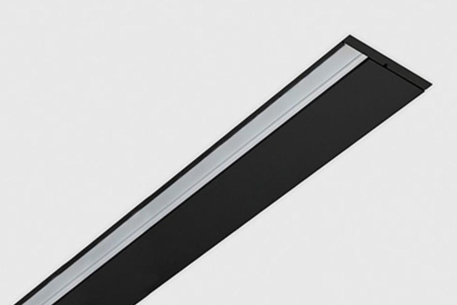 Rei wallwasher profile recessed mounted