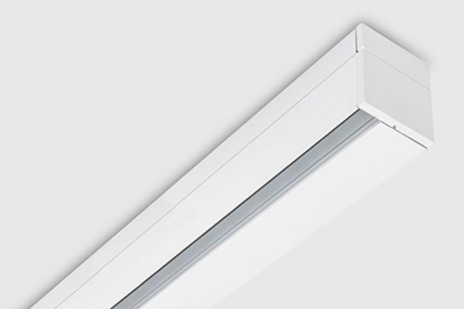 Rei wallwasher profile surface mounted