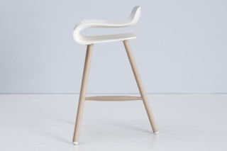 BCN stool wood  by  Kristalia