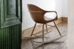 Elephant leather rocking chair