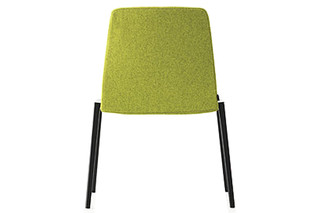 Plate chair  by  Kristalia