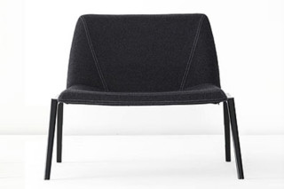 Plate loungechair  by  Kristalia