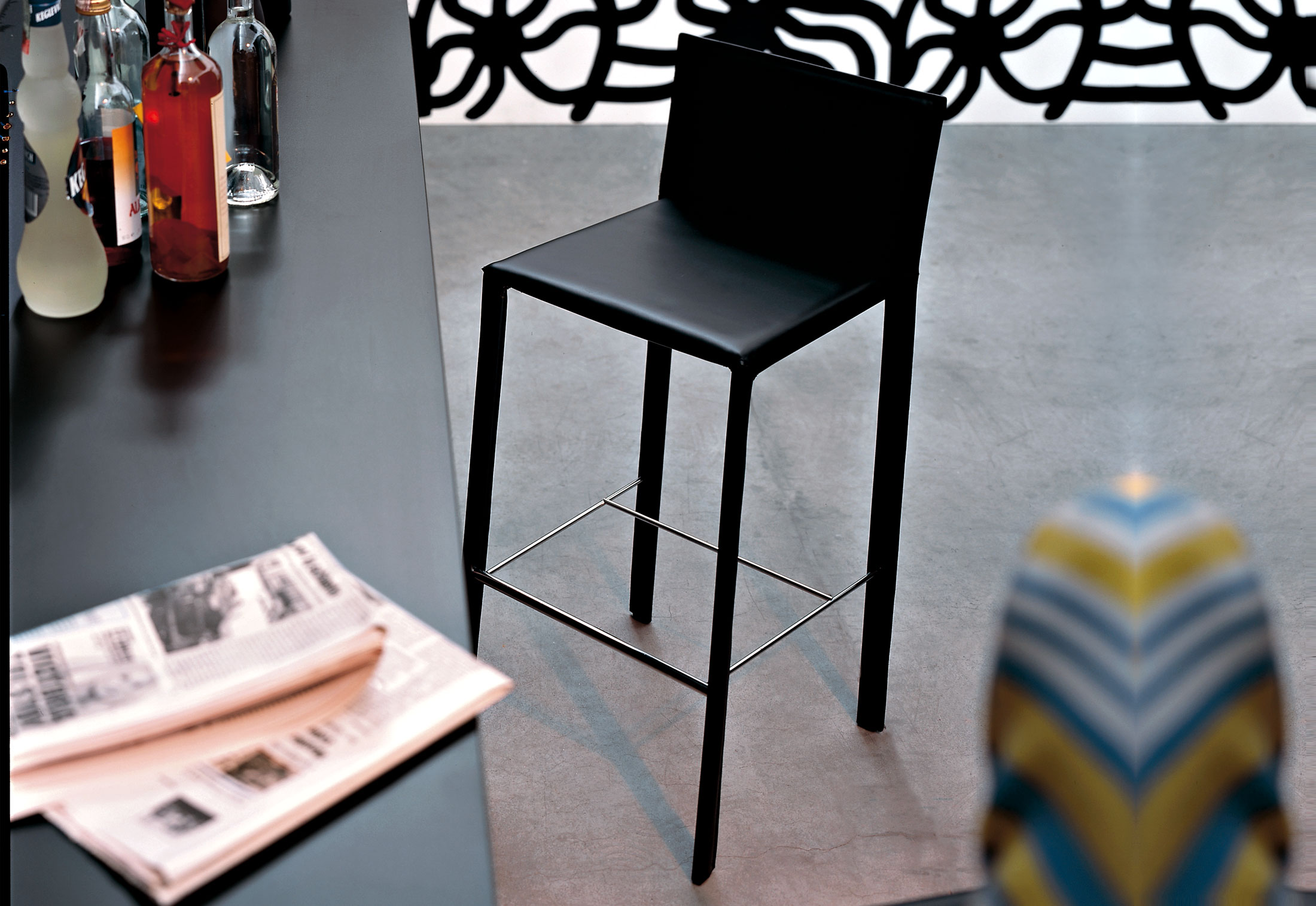 Slim Stool By Kristalia Stylepark