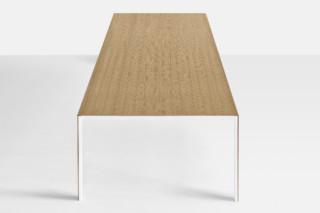 Thin-k Longo wood  by  Kristalia