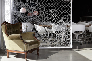 Hotel Banks, Belgium  by  Lace Fence