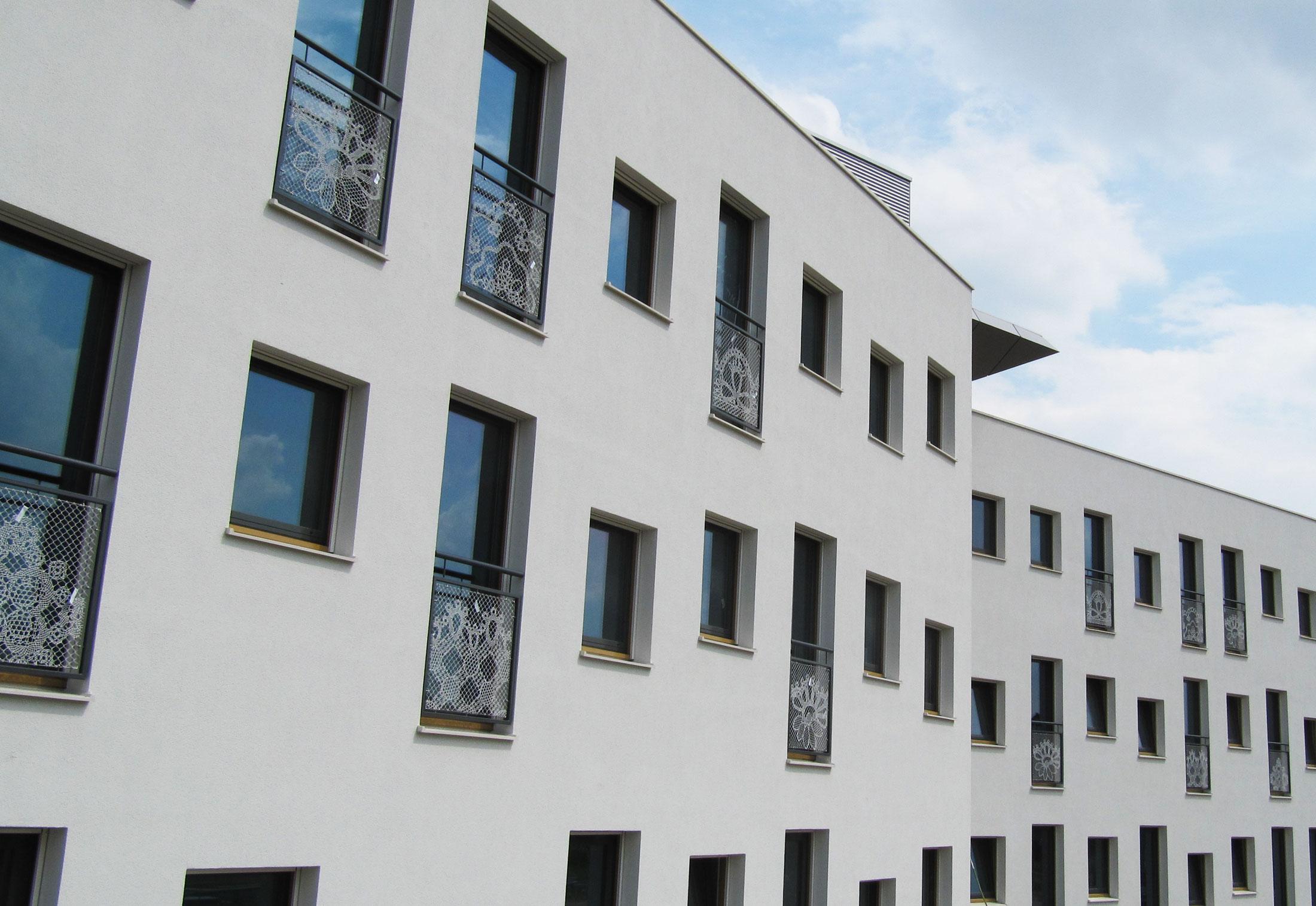 Nursing home zoetermeer netherlands by lace fence for Home design zoetermeer