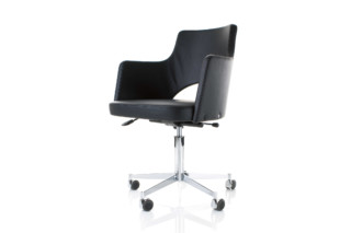 Cortina easychair on castors  by  Lammhults