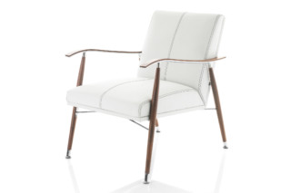 Sahara wood armchair  by  Lammhults