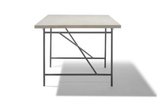 Eiermann Tischgestell rechteckig  von  Lampert
