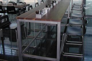 Hole bar stool  by  Lapalma