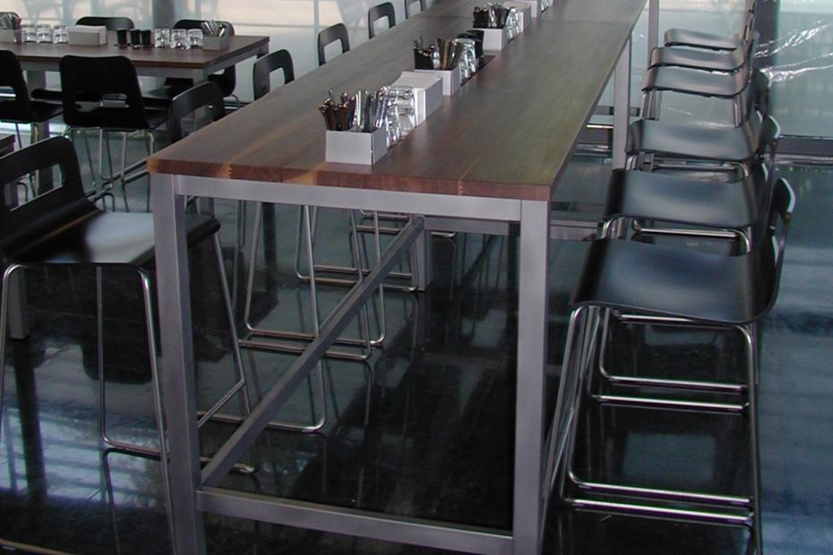 Hole bar stool