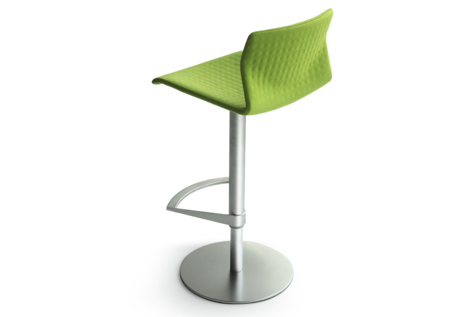 Kai bar stool upholstered