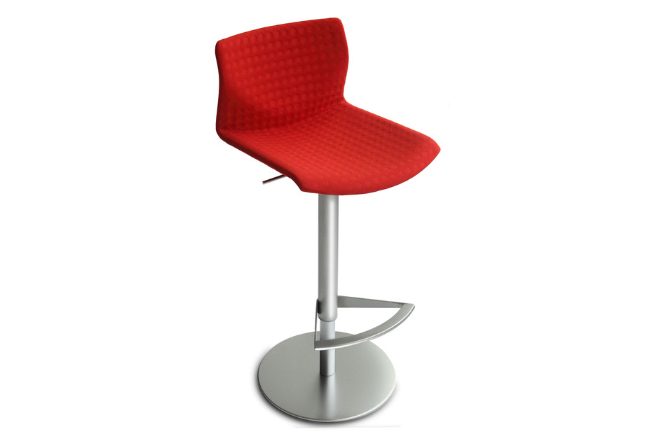Kai bar stool upholstered