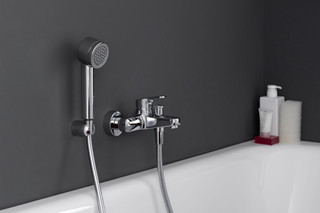 citypro single lever bath mixer  by  Laufen