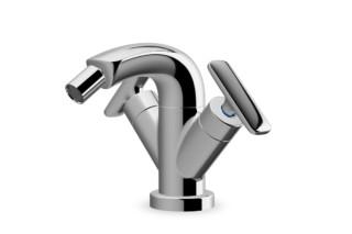 Curveprime two-handle bidet mixer  by  Laufen